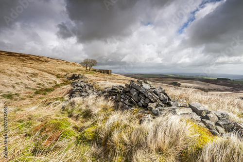 Top Withens (Wuthering Heights) Fototapet