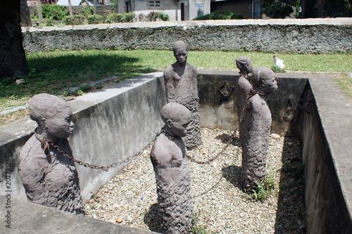 Monument am ehemaligen Sklavenmarkt, Stonetown, Sansibar