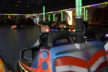 Electric Bumper Cars At The Am...