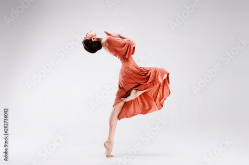 Fotografía Ballerina on a white background