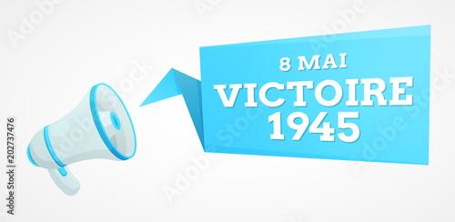 Victoire 1945 - 8 mai Wallpaper Mural
