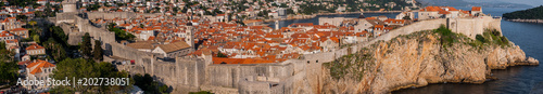 Photo  Walled old town of Dubrovnik served as King's Landing in Game of Thrones HBO TV Series
