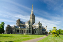 Salisbury Cathedral, In Spring...