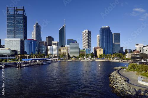 Fotobehang Australië Australia, WA, Perth, CBD