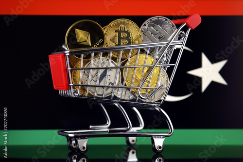 Shopping trolley full of physical version of cryptocurrencies shopping trolley full of physical version of cryptocurrencies bitcoin litecoin dash ethereum ccuart Choice Image