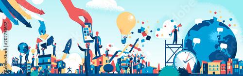 Fotografía  Marketing and Business Society