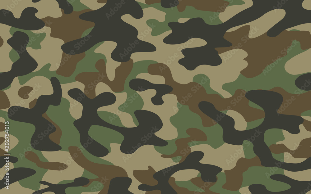 Fototapeta texture military camouflage repeats seamless army green hunting