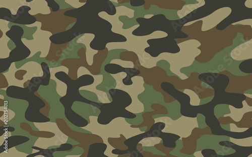 Fotografía  texture military camouflage repeats seamless army green hunting