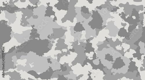 Pinturas sobre lienzo  Print texture military camouflage repeats seamless army gray monochrome hunting