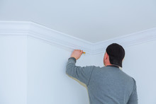Installation Of Ceiling Moldin...