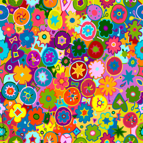 Foto auf AluDibond Ziehen Floral frame for your design