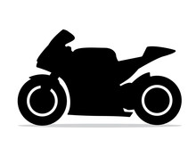 Motorcycle Silhouette Design I...
