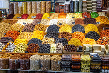 Dried Fruits And Various Seasonings Are On The Market.