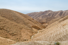 Judaean Desert In The Holy Lan...
