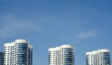 High-rise Buildings Against The Sky