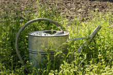 Metal Garden Watering Can And ...