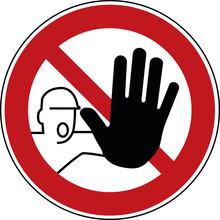 Zutritt Verboten Schild - Verb...