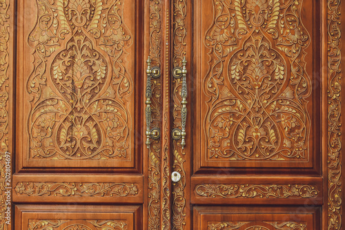 Antique doors with patterns - Antique Doors With Patterns - Buy This Stock Photo And Explore