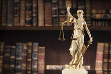 Lady Of Justice, Law And Justi...
