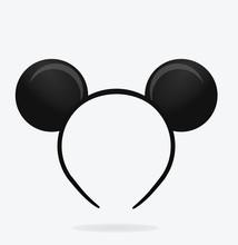 Round Ears Mask. Vector Illust...