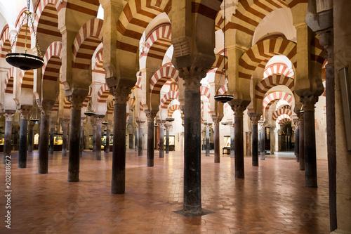 Fotografiet La Mezquita Cathedral in Cordoba, Spain