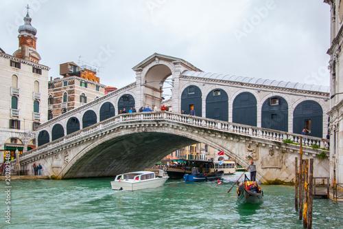 Poster Venice The Rialto Bridge
