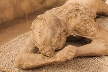 Mummified Victim Of Pompeii