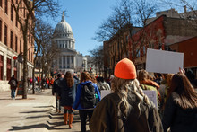 Teens Marching To The Capitol ...