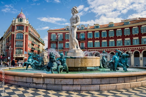Cadres-photo bureau Nice Nizza, Place Massena