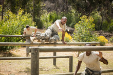 Military Soldiers Training On ...
