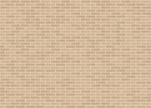 Vector Seamless Stretcher Mixed Bond Sandstone Brick Wall Texture