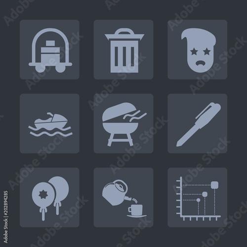 Fotografie, Obraz  Premium set of fill icons