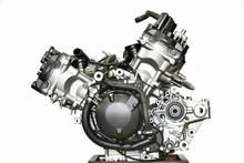 大型バイクエンジンの...