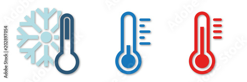 Symbol-Set - Temperaturen