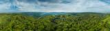 Fototapeta Na ścianę - 360° Luftbild Panorama Pfälzer Wald