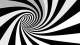 Fototapeta Fototapety do przedpokoju - Hypnotic spiral illusion 3D rendering