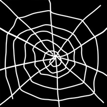 Contour Drawing Of The Web On ...