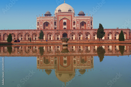 Canvas Prints Delhi Humayun's tomb in New Delhi, India