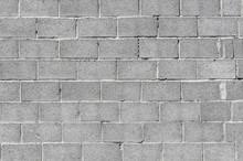 Wall Of Gray Concrete Blocks