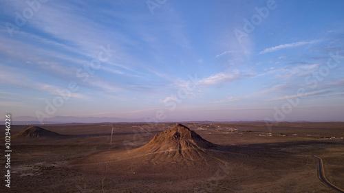 Fotobehang Chocoladebruin Desert Mountains