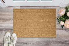 Blank Coir Doormat Before The ...