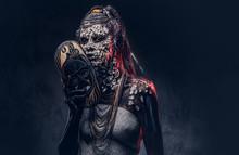 Make-up Concept. Portrait Of A...