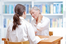 Doctor Patient Neck Pain Fibro...