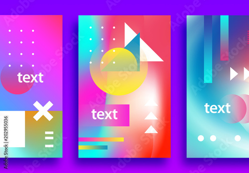 3 colorful event poster layouts buy this stock template and explore