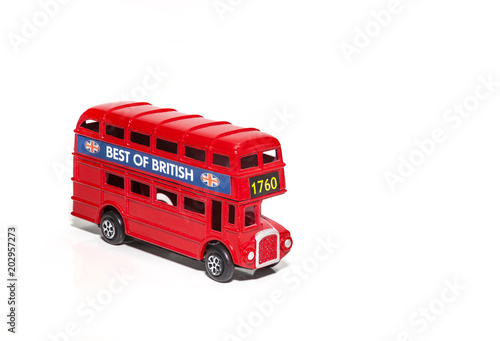 Papiers peints Londres bus rouge Red London Doubledecker Bus