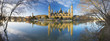 Zaragoza - The panorama of Basilica del Pilar and Puente de Piedra bridge ower the Ebro river in the morning light.