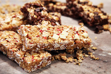 Granola Bar. Healthy Sweet Des...