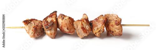 Fotografía Pork shish kebab