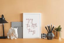 The Design Pastel Orange Desk ...