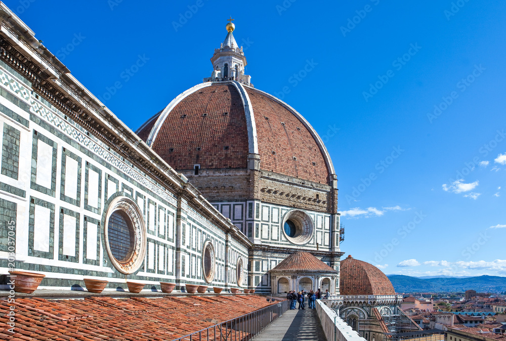 Fototapety, obrazy: Landscapes, architectures and art of the city of Florence